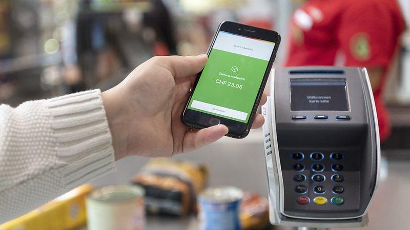 75% des Suisses recourent au paiement sans contact. (illustration)