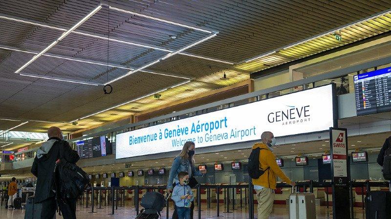 On est loin de la cohue estivale habituelle dans les aéroports (archives).