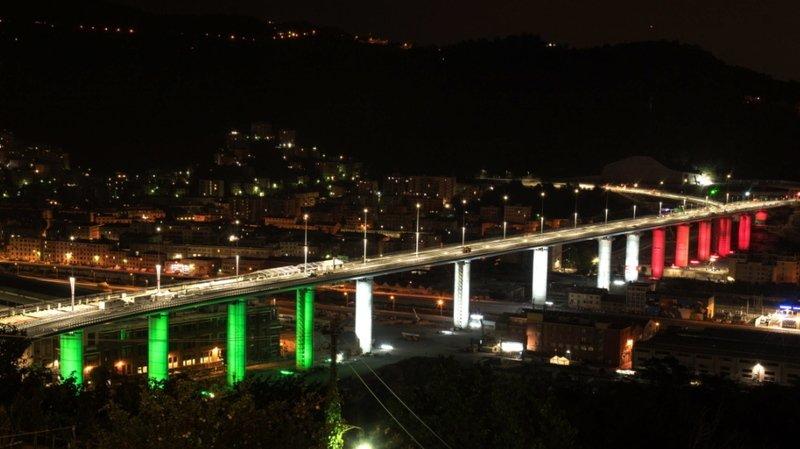 Le nouveau pont de Gênes inauguré