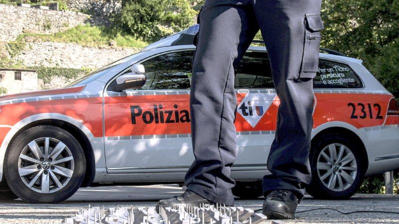 Tessin: coup de feu à Chiasso pour stopper une voiture volée