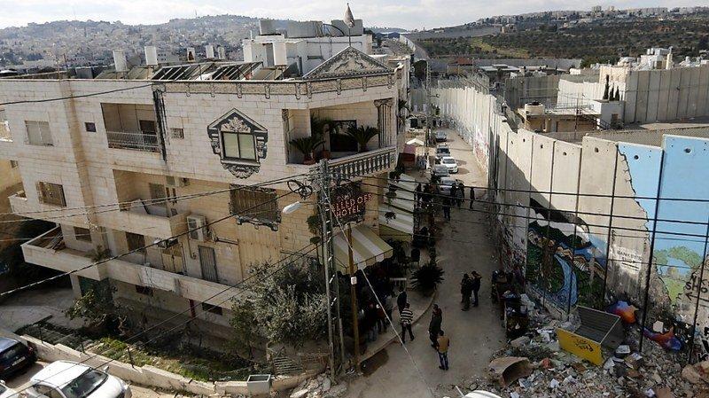 Banksy va reverser la vente d'une oeuvre à un hôpital palestinien