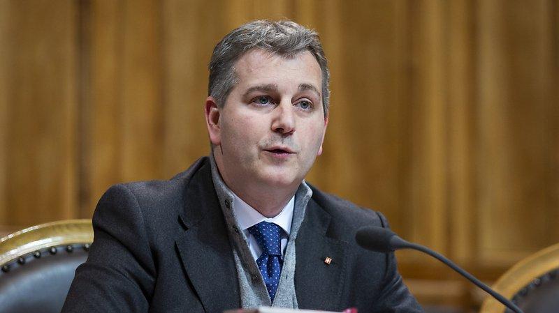 Le Tessinois Marco Chiesa a été proposé comme président de l'UDC