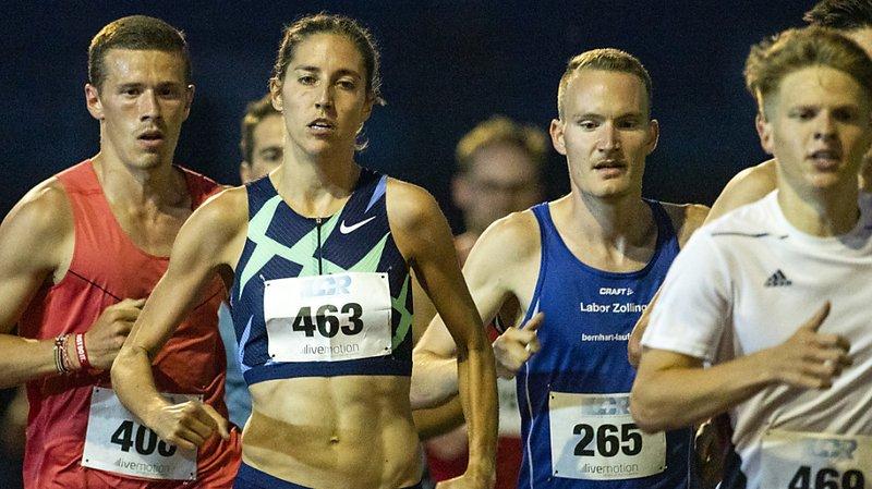 Athlétisme: excellent chrono pour Fabienne Schlumpf aux 5000 m