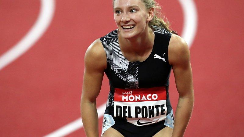 Ajla Del Ponte a encore dominé un 100 m de la Ligue de diamant.
