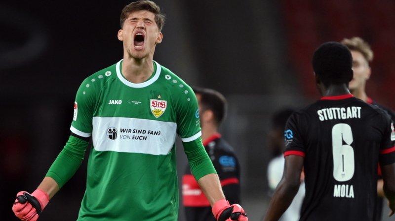 Gregor Kobel devrait partir titulaire dans les rangs de Stuttgart, néo-promu en Bundesliga.