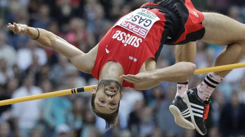 Athlétisme: le Vaudois Loïc Gasch égale la meilleure performance mondiale de 2020 au saut en hauteur