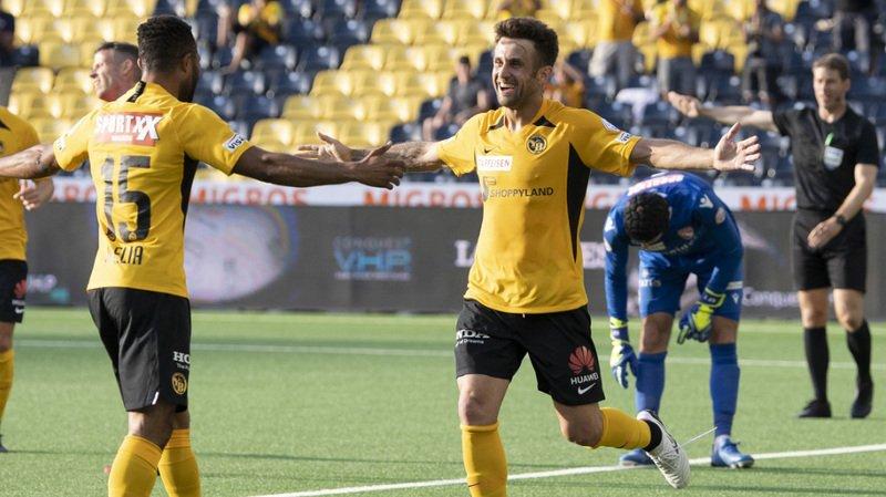 Football: Young Boys bat Thoune 4-0 et repasse en tête