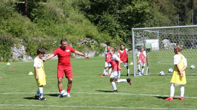 Football: une fréquentation stable pour les camps de l'AVF