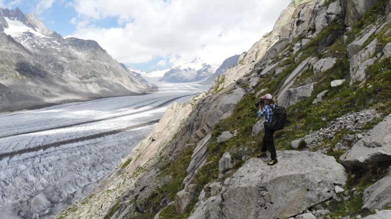 Les glaciers, géants en mouvement et en photos