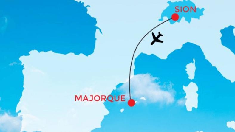 Coronavirus: les vols Sion-Majorque annulés