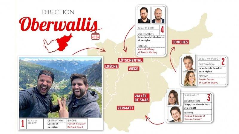 Direction Oberwallis: «Le Nouvelliste» à la conquête du Haut pendant un mois