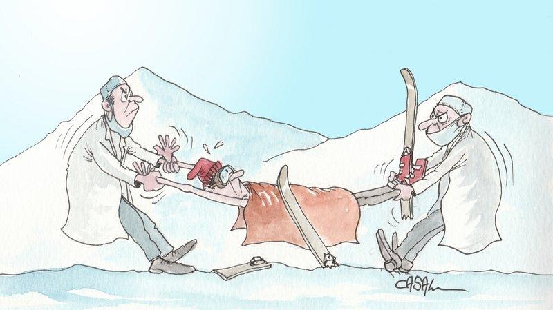 Vallée d'Illiez: les urgences des pistes au cœur d'une bataille