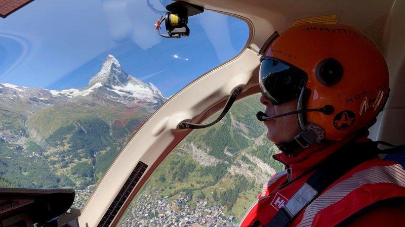 En mission de sauvetage avec le pilote Gerold Biner, Prix Rünzi 2020