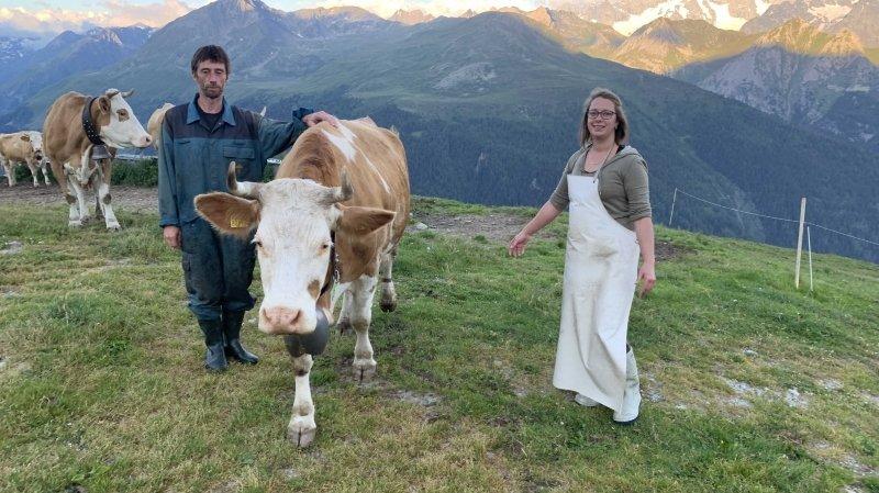 Tout un fromage: Martina et Frédéric mettent la main à la pâte à 2238 mètres