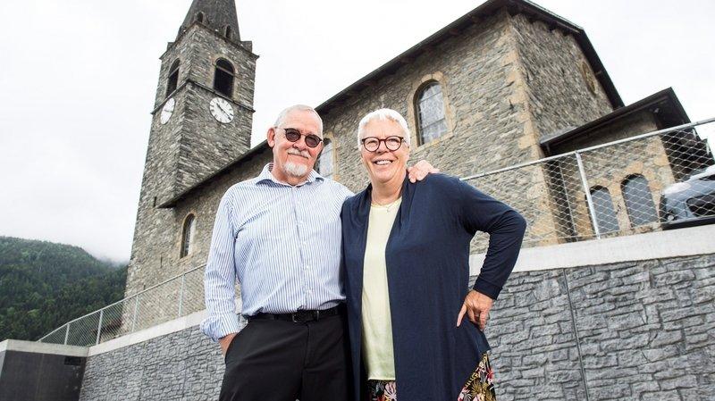 Troistorrents: «bien marié» à une Chorgue, le carillonneur d'Orsières fait l'unanimité