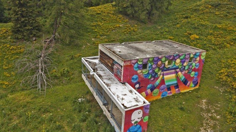 Le Vision Art Festival amène l'art urbain dans la nature.