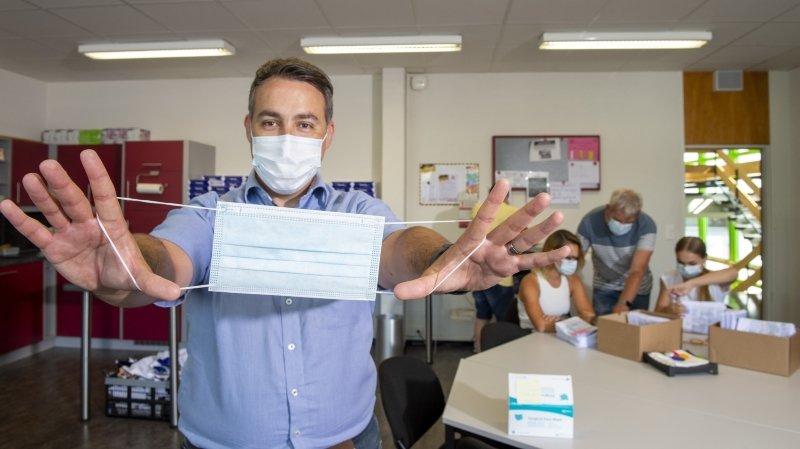 Valais: le masque s'invite dans les écoles à la rentrée