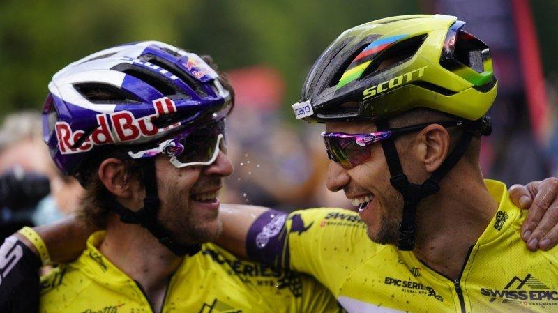 VTT: les Suisses Nico Schurter et Lars Forster remportent la Swiss Epic