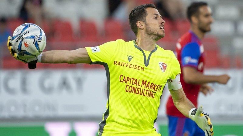 FC Sion: Kevin Fickentscher est le joueur le mieux noté de la saison