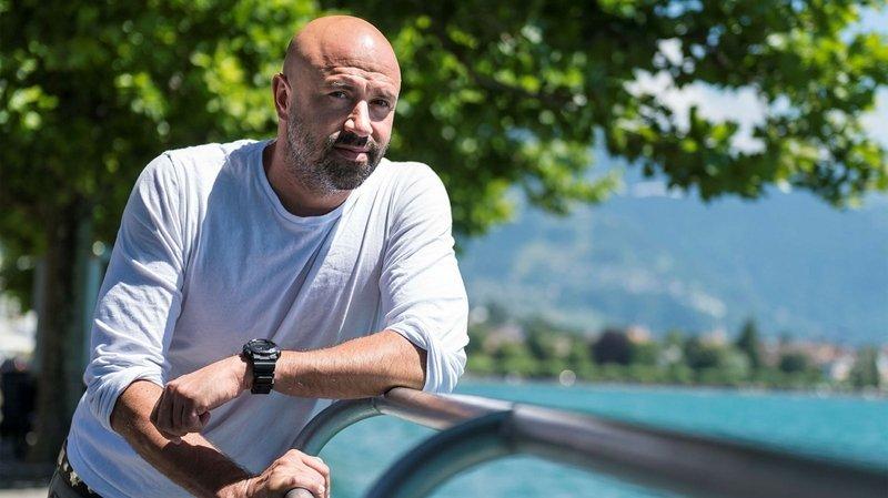 Frédéric Recrosio: «J'ai un faux travail; je ne vois pas pourquoi j'aurais des vraies vacances»