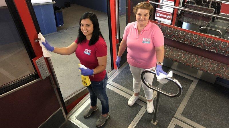 Coronavirus: les entreprises de nettoyage s'activent dans l'ombre pour la sécurité de tous