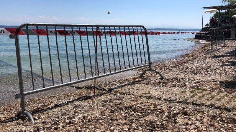 Cyanobactéries: baignades déconseillées tout le week-end sur le Littoral neuchâtelois