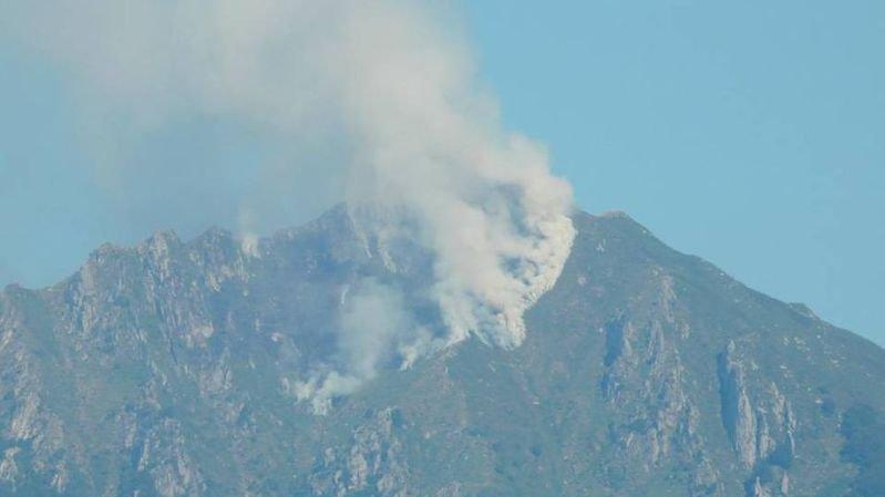 Lutte contre un feu de forêt depuis plus d'une semaine près de Locarno