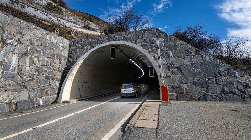 Valais: une distance de 150 mètres imposée dans le tunnel de Mittal
