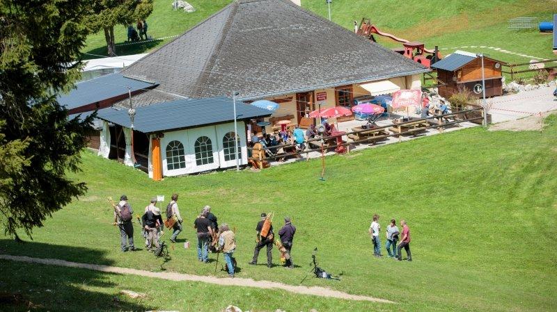 L'accident a eu lieu à Basse-Ruche, dans les hauts de Saint-Cergue.