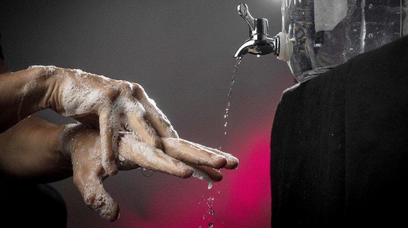 Se laver les mains? Une découverte