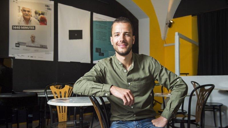 Stefan Hort a reçu le Prix culturel d'encouragement de l'Etat du Valais en 2018.