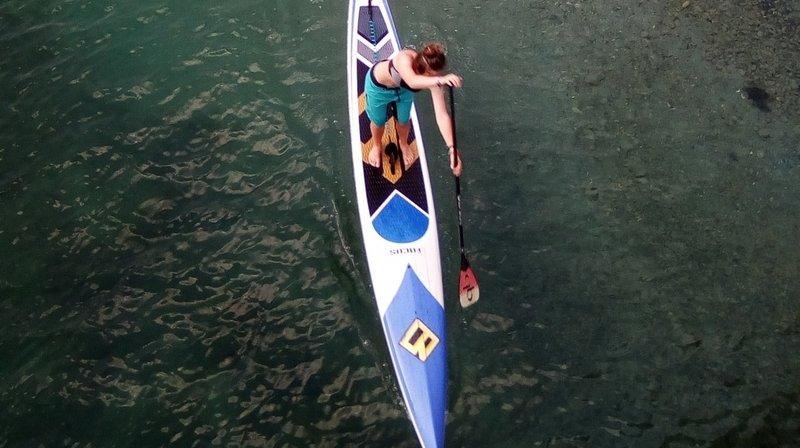 Cédric Reynard veut développer le stand up paddle en tant que pratique sportive