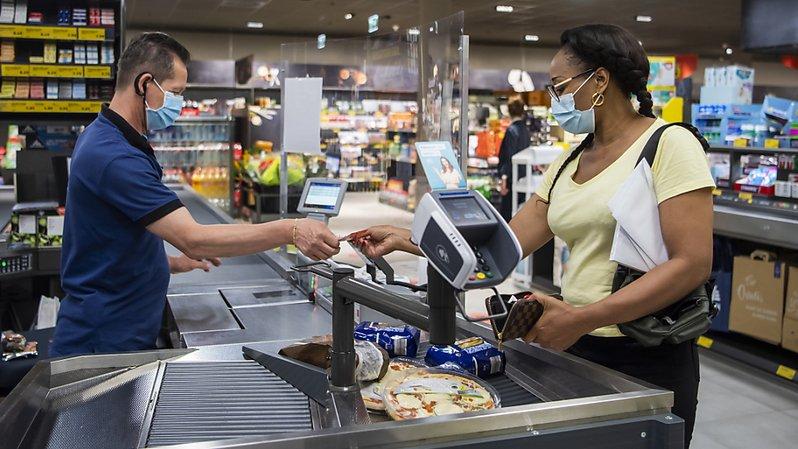 Le masque est désormais obligatoire dans les magasins vaudois accueillant plus de 10 personnes en même temps.