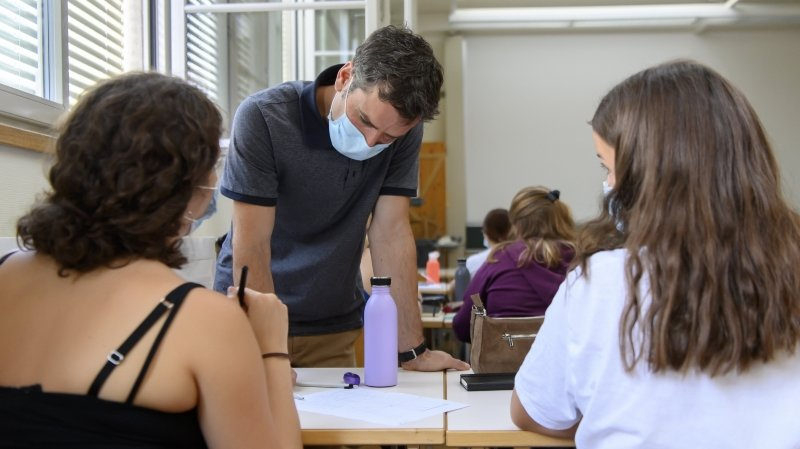 «Il faudra faire avec»: le masque est le nouvel élève de la rentrée valaisanne 2020/2021