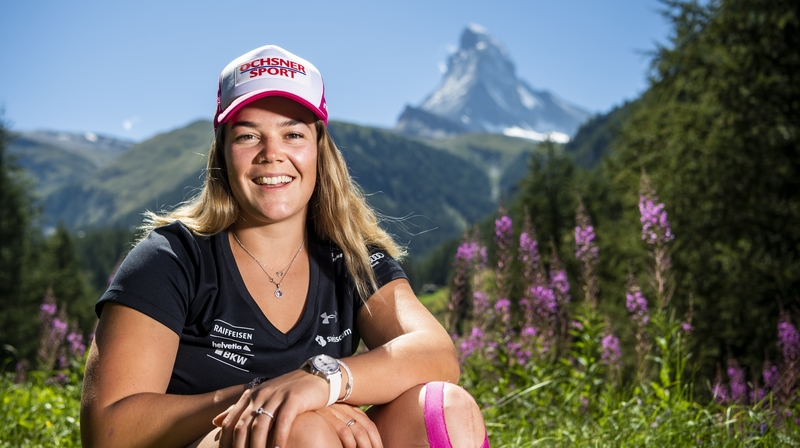 Ski: Mélanie Meillard a retrouvé un rythme normal