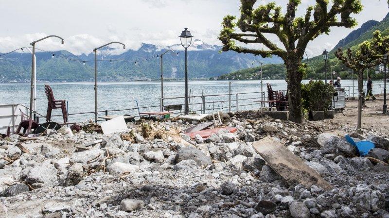 Les travaux devraient éviter une nouvelle crue comme celle vécue en 2015, où des centaines de mètres cubes de roche et de boue s'étaient retrouvées dans le village.