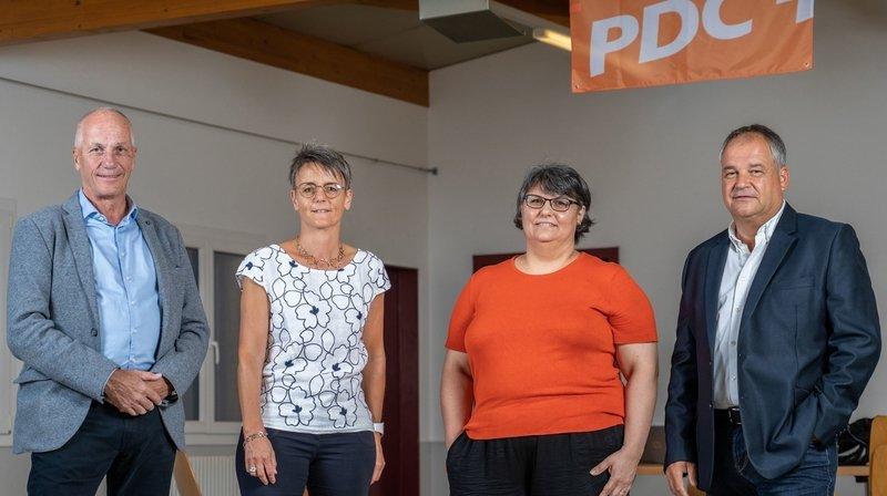 Le PDC de Collombey-Muraz présente 4 candidats… pour l'instant