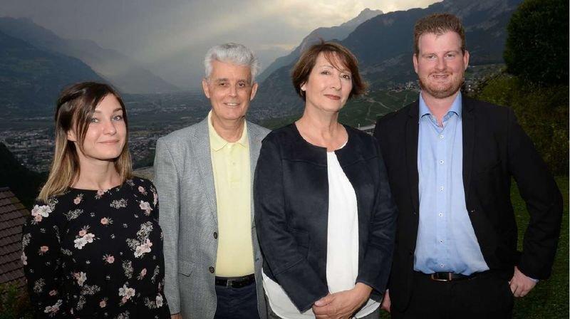 A Savièse, le PS part avec quatre nouveaux