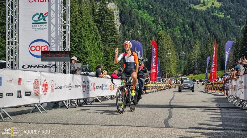 Raphaël Addy s'est imposé avec une certaine marge, lors du sprint.