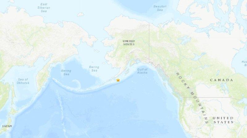 Séisme de 7,8 au large de l'Alaska: brève alerte au tsunami