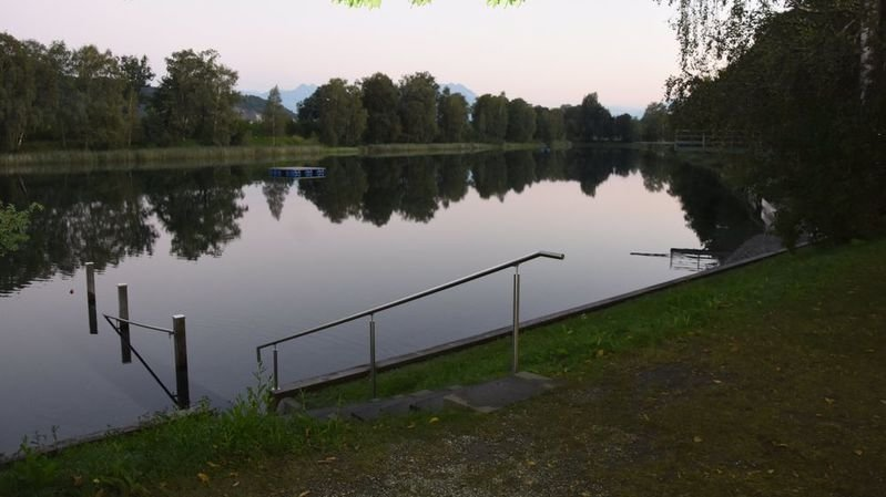 Le drame s'est déroulé vendredi soir dans le Baggersee.
