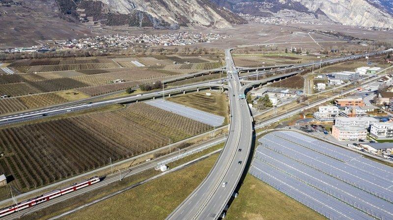 Le viaduc de Riddes va passer de 4 à 2 voies