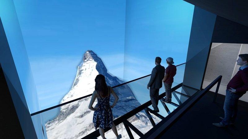 Une exposition sur trois étages va permettre de découvrir le Cervin de manière différente.