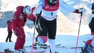Les skieuses suisses s'entrainent à Zermatt