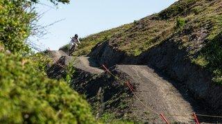 Crans-Montana inaugure une nouvelle piste de Downhill