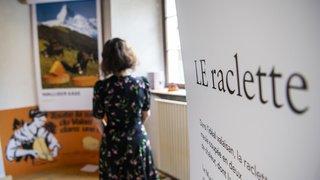 Musée de Bagnes: au féminin ou au masculin, le mot «raclette» se mange à la sauce BD