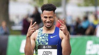 Athlétisme: Jason Joseph bat son record de Suisse du 110 m haies à Berne, Del Ponte confirme
