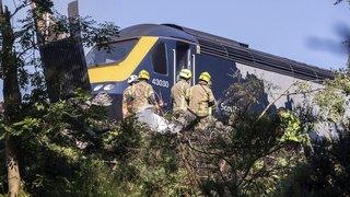 Ecosse: le déraillement d'un train a fait plusieurs blessés graves