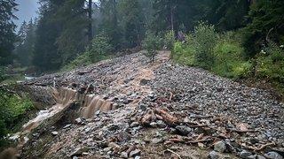 Orages en Valais: laves torrentielles signalées à Chamoson et dans le Vallon de Van