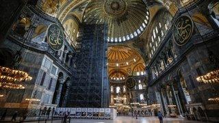 Sainte-Sophie pourra redevenir une mosquée